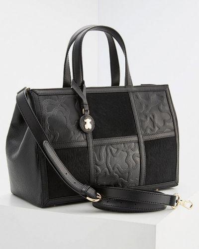 Кожаный сумка с мехом Tous