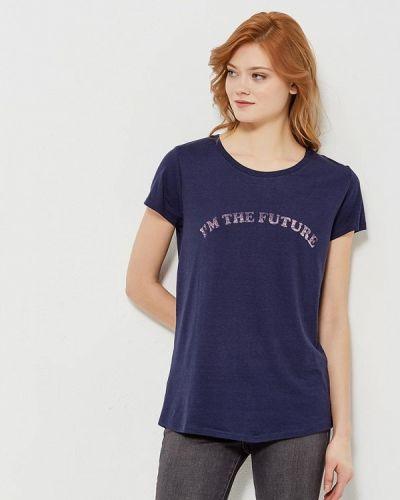 Синяя футболка Colin's