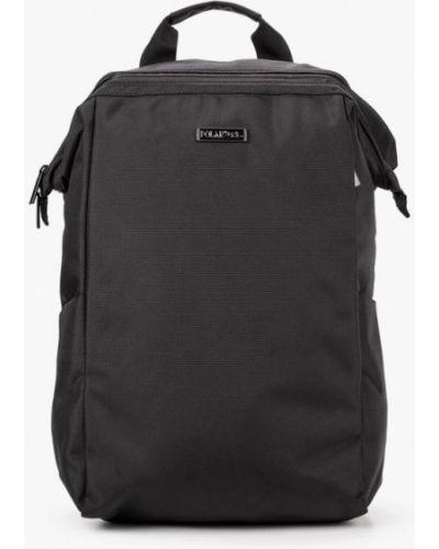 Текстильный черный рюкзак Polar