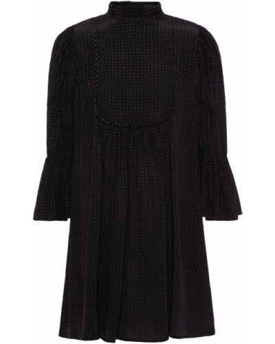 Czarna sukienka z wiskozy Bytimo