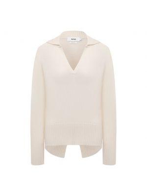 Трикотажный пуловер - белый Not Shy