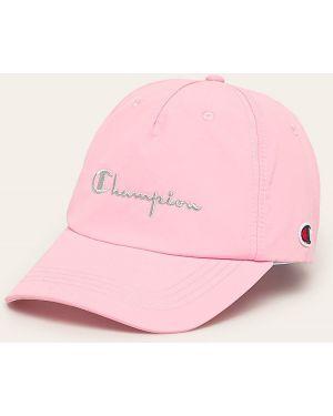 Różowy kapelusz dzianinowy Champion