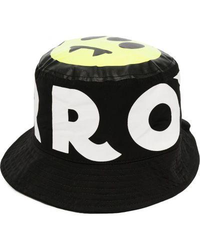 Czarny kapelusz z printem Barrow