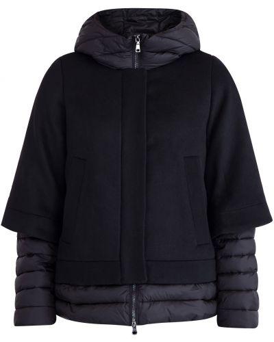 Куртка с капюшоном утепленная оверсайз Cudgi