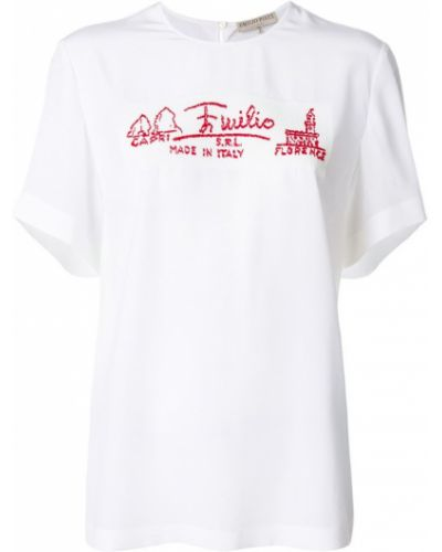 футболка с надписью Emilio Pucci