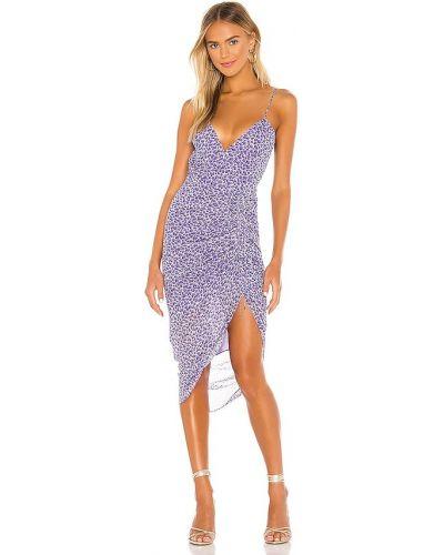 Платье макси - фиолетовое Karina Grimaldi