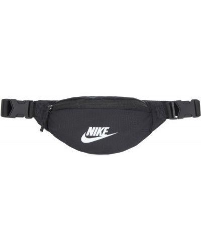 Черная поясная сумка с поясом Nike