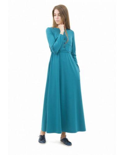 Платье бирюзовый вязаное Doctor E