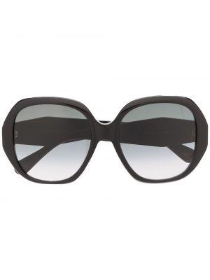 Черные солнцезащитные очки оверсайз Gucci Eyewear