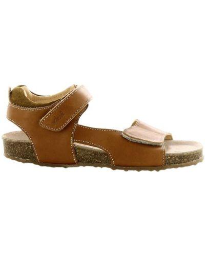 Brązowe sandały Ocra