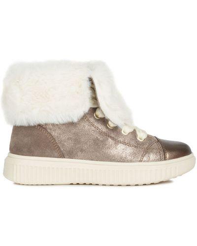 Ботинки бежевые Geox