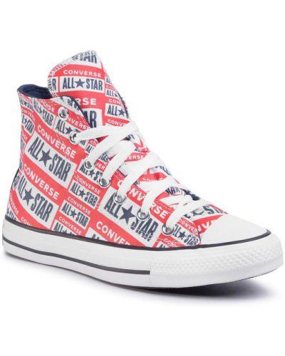 Trampki, czerwony Converse