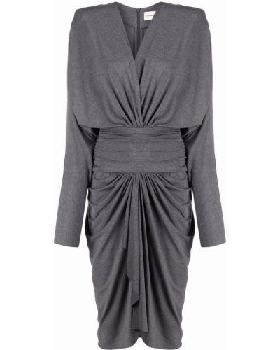 Sukienka z wiskozy Alexandre Vauthier