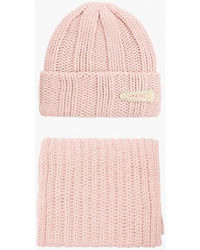 Розовый демисезонный шарф Trendyangel