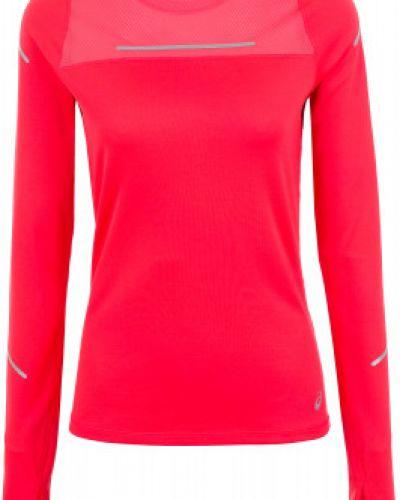 Спортивная футболка приталенная розовый Asics