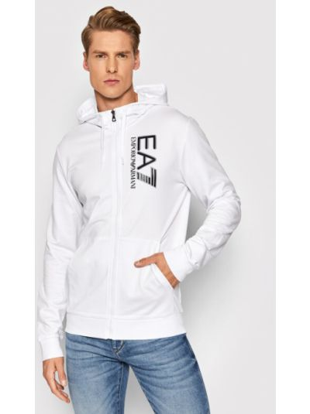 Bluza - biała Ea7 Emporio Armani