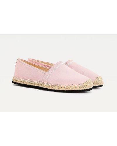 Klasyczne espadryle - różowe Tommy Jeans