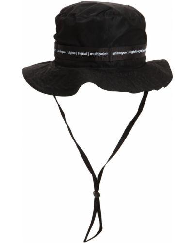 Czarny kapelusz z nylonu Tdt - Tourne De Transmission