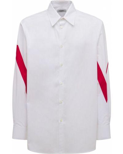 Белая рубашка на пуговицах Valentino