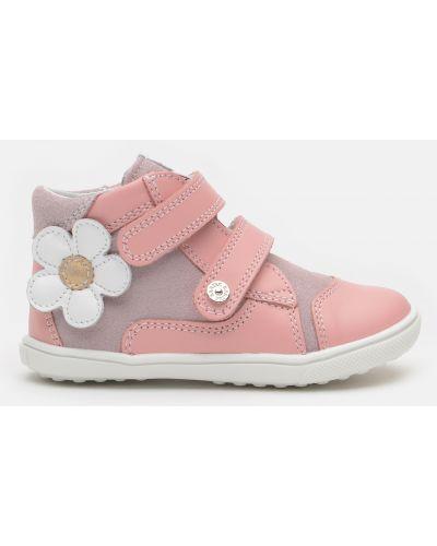 Водонепроницаемые розовые ботинки со вставками Bartek