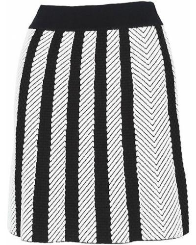 Хлопковая юбка макси - черная Maje