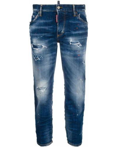 Boyfriend cropped jeans Dsquared2