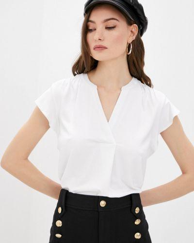 Белая футболка с короткими рукавами Lauren Ralph Lauren