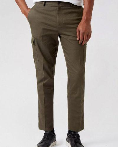 Зеленые брюки карго Burton Menswear London