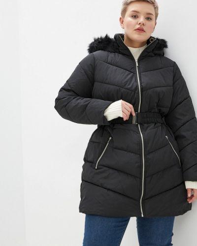 Зимняя куртка утепленная черная Dorothy Perkins Curve