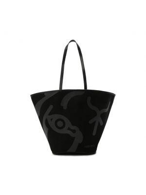 Черная сумка тоут Kenzo
