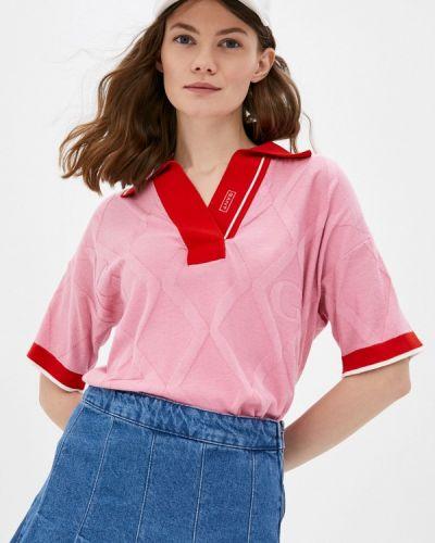 Поло - розовый Gant