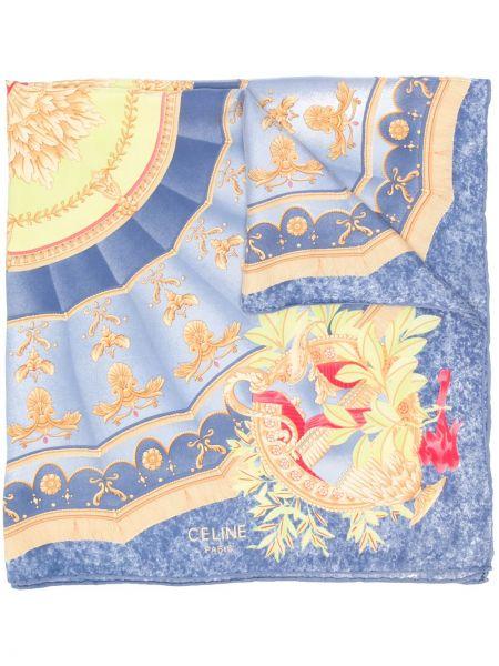 Платок шелковый Céline Pre-owned
