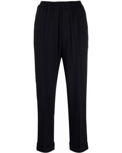 Шерстяные брюки - синие Barena