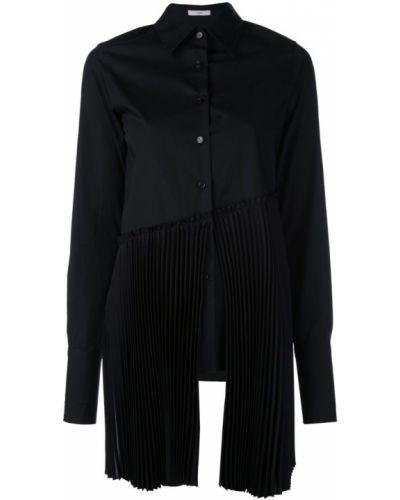 Черная рубашка на пуговицах Tome