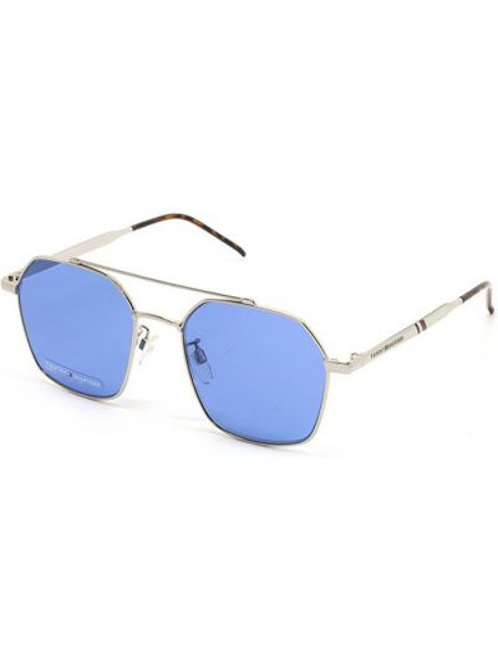Серебряные очки металлические Tommy Hilfiger