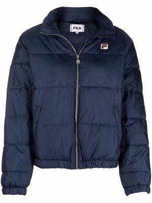 Длинная куртка - синяя Fila