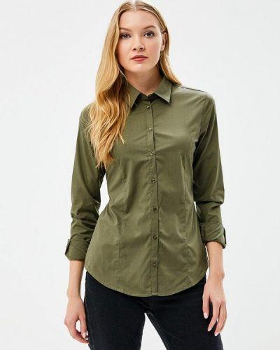 Рубашка зеленый хаки Piazza Italia