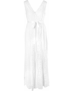 Вечернее платье для беременных - белое Bonprix