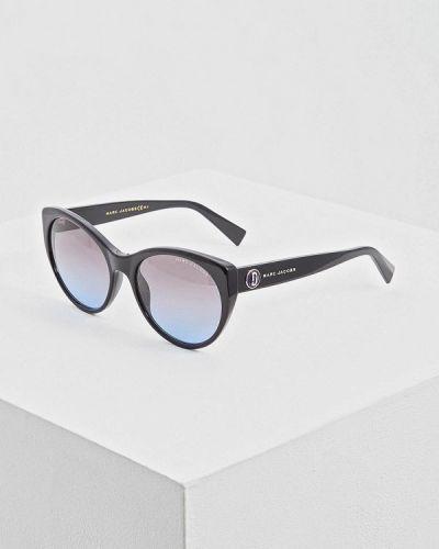 Солнцезащитные очки кошачий глаз черные Marc Jacobs