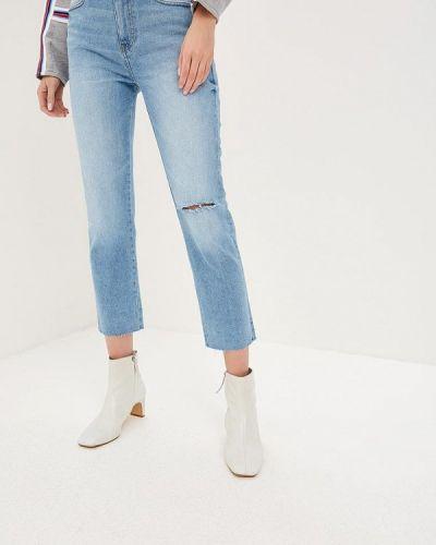 Прямые джинсы голубой 2019 Ovs