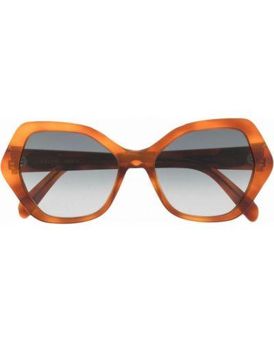 Brązowe okulary Céline