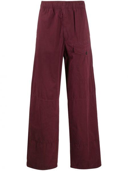 Spodni prosto bawełna bawełna spodnie o prostym kroju Acne Studios