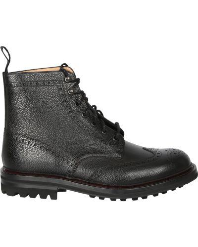 Czarne ankle boots Churchs