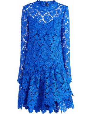 Платье с цветочным принтом спортивное Ermanno Scervino