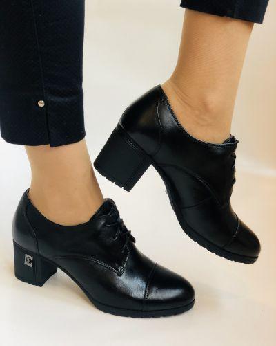 Туфли на каблуке - черные Polann