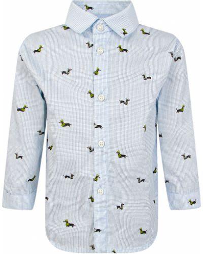 Голубая рубашка Mayoral