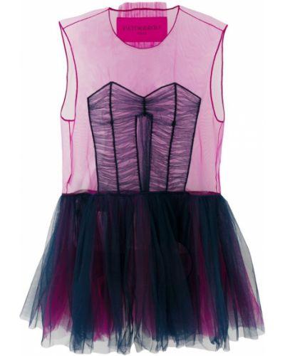 Платье без рукавов с вырезом Viktor & Rolf