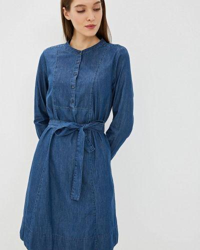 Джинсовое платье весеннее синее Ovs
