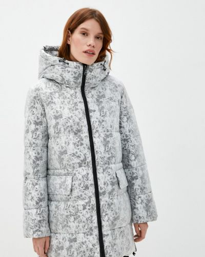 Серебряная теплая куртка Dixi Coat