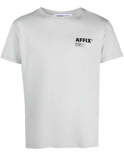 T-shirt bawełniany z printem krótki rękaw Affix